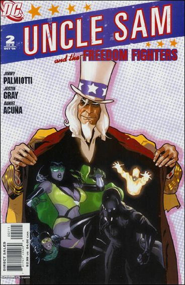 Uncle Sam and the Freedom Fighters (2006) 2-A by DC