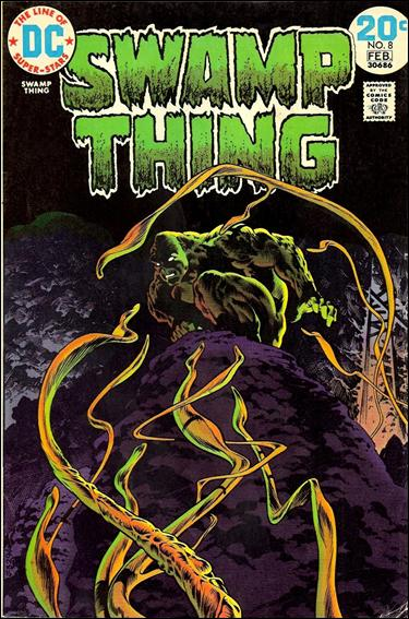 Swamp Thing (1972) 8-A by DC