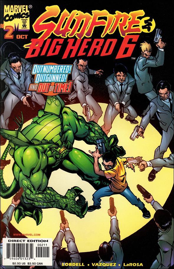 Sunfire & Big Hero Six 2-A by Marvel