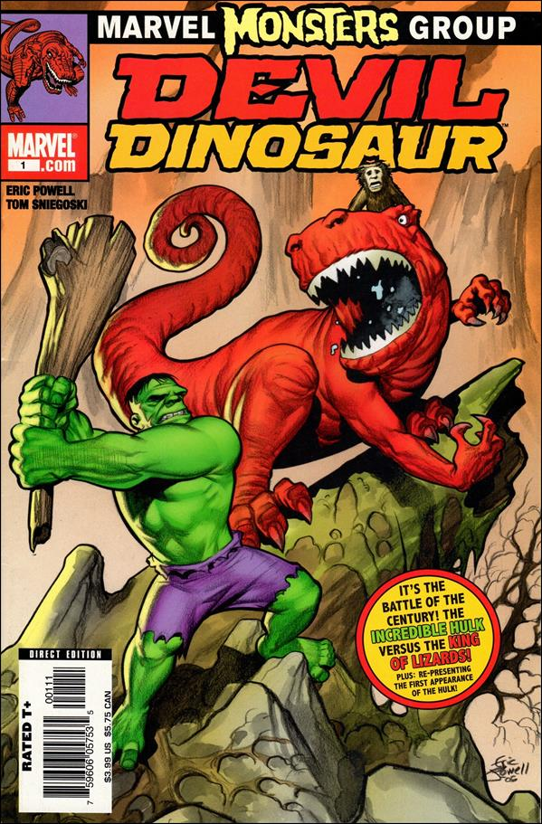 Marvel Monsters: Devil Dinosaur 1-A by Marvel