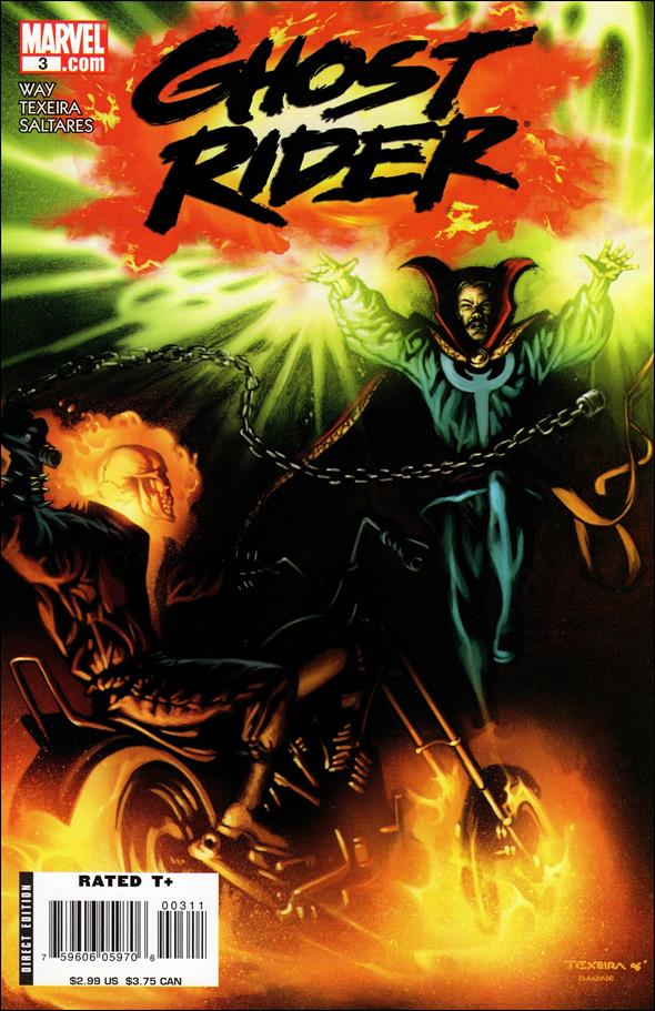Ghost Rider (2006) 3-A by Marvel