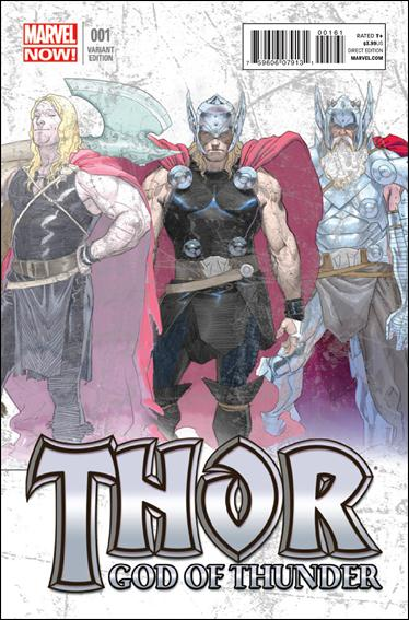 Thor: God of Thunder 1-B by Marvel