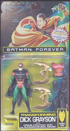 Batman Forever Transforming Dick Grayson