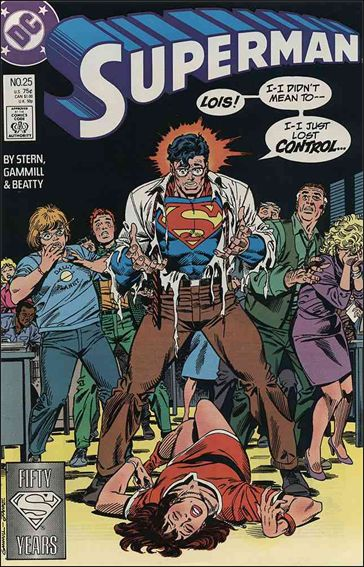 Superman (1987) 25-A by DC