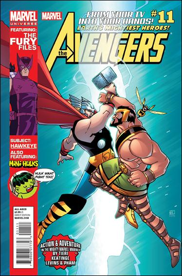 Avengers Earth's Mightiest Heroes (2012) 11-A by Marvel