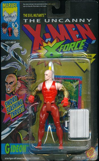 X-Men (X-Force) Gideon by Toy Biz