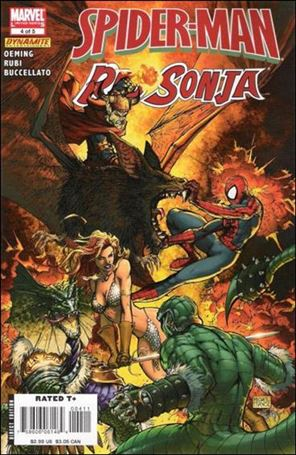 Spider-Man/Red Sonja 4-A