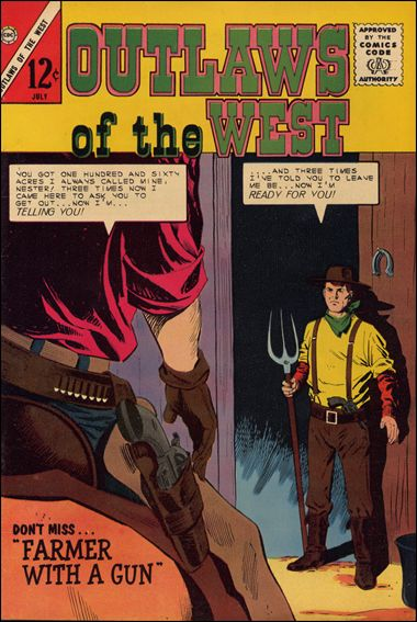 Outlaws of the West 49-A by Charlton