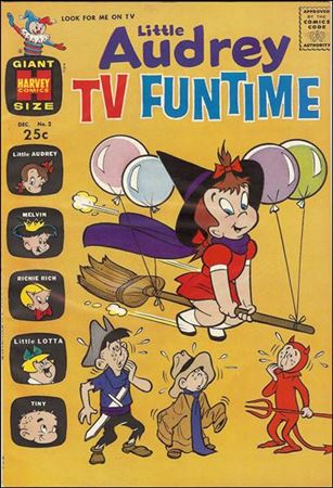 Little Audrey TV Funtime 2-A