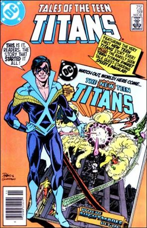 Tales of the Teen Titans 59-A