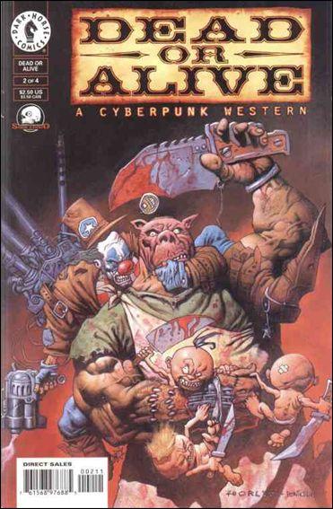 Dead or Alive-A Cyberpunk Western 2-A by Dark Horse