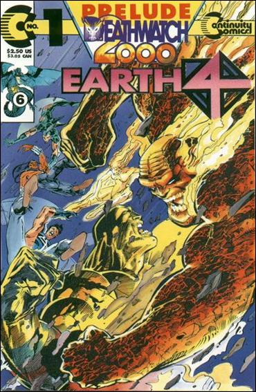 Earth 4 Deathwatch 2000 1-B by Continuity Comics