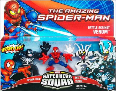 Amazing Spider-Man - Marvel Super Hero Squad (Box Sets) Battle Against Venom by Hasbro
