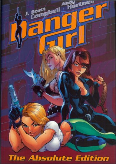 Absolute Danger Girl 1-A by Cliffhanger