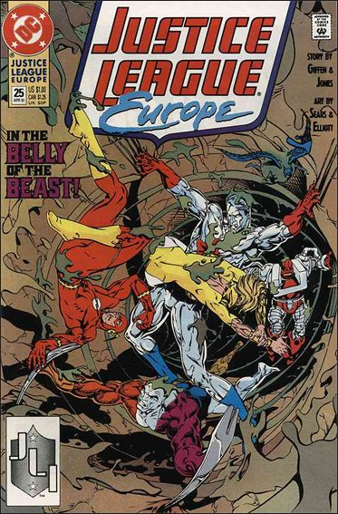 Justice League Europe 25-A by DC