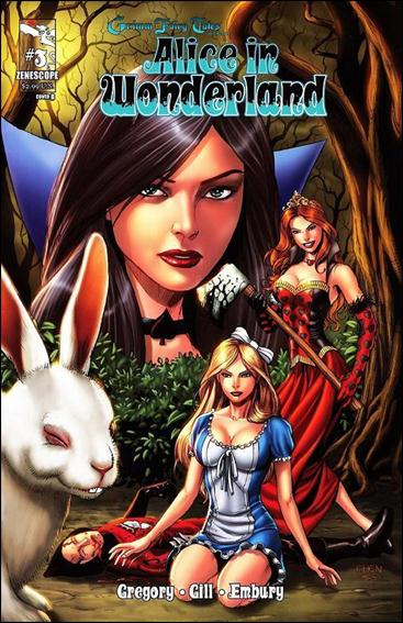 Grimm Fairy Tales Presents Alice in Wonderland 3-B by Zenescope Entertainment