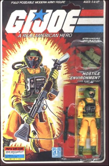 G.I. Joe: A Real American Hero 3 3/4&quot; Basic Action Figures Airtight (Hostile Environment) by Hasbro
