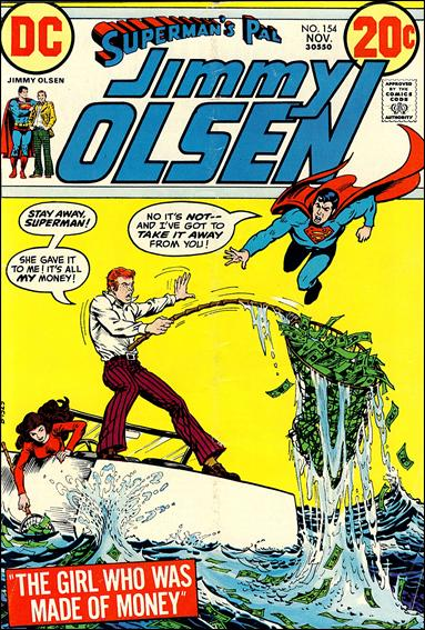 Superman's Pal Jimmy Olsen 154-A by DC