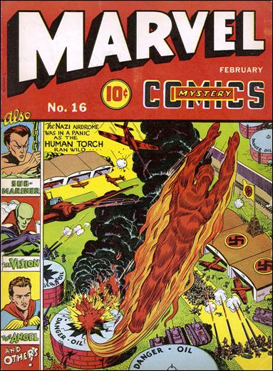 Marvel Mystery Comics (1939) 16-A by Timely
