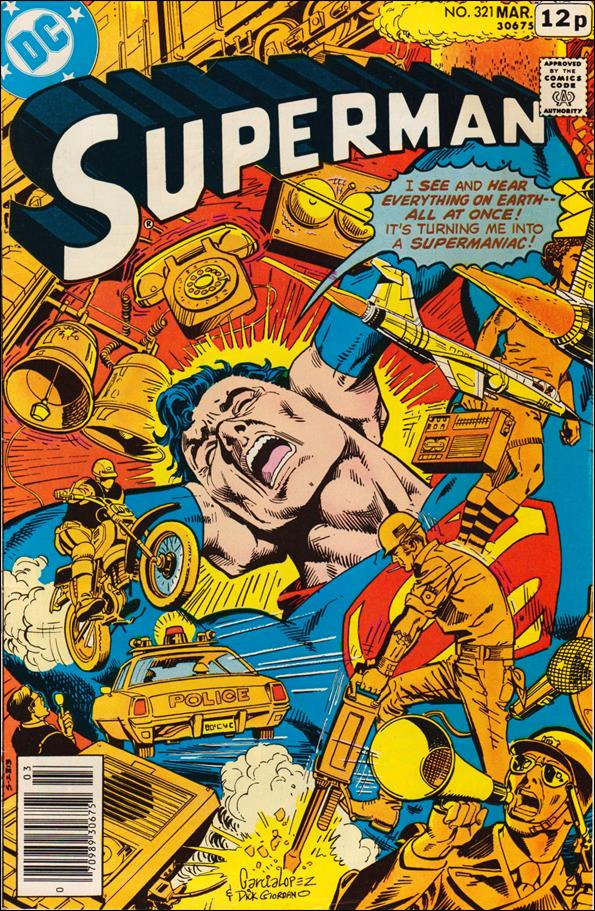 Superman (1939) 321-C by DC