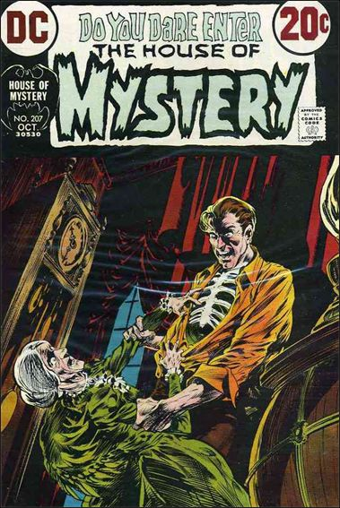 House of Mystery (1951) 207-A by DC