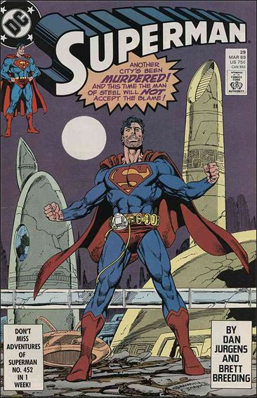 Superman (1987) 29-A by DC