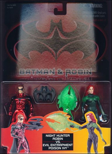 Batman and Robin (Movie) Action Figure 2-Packs Robin vs Poison Ivy by Kenner