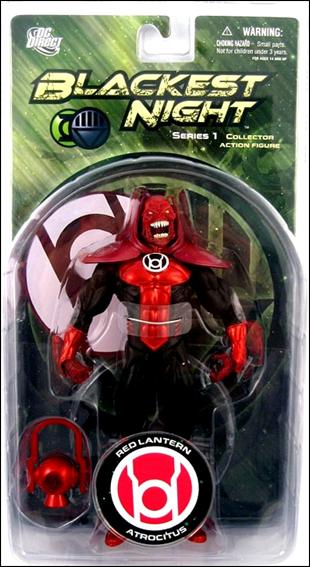 Blackest Night (Series 1) Red Lantern Atrocitus by DC Direct