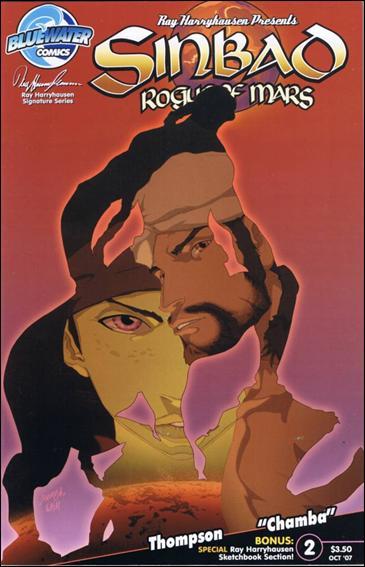 Sinbad: Rogue of Mars 2-B by Bluewater Comics