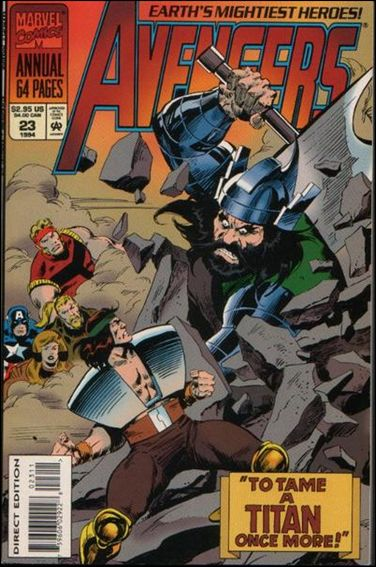 Avengers Annual 23-A by Marvel