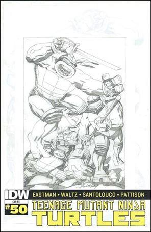 Teenage Mutant Ninja Turtles (2011) 50-Q