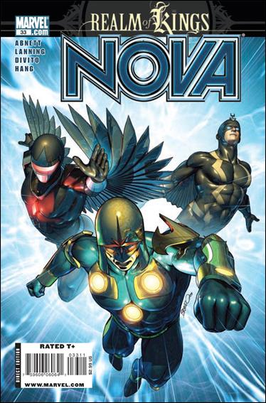 Nova (2007) 33-A by Marvel