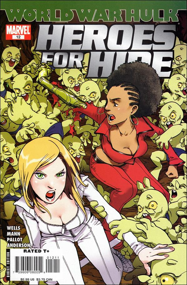 Heroes for Hire (2006) 12-A by Marvel