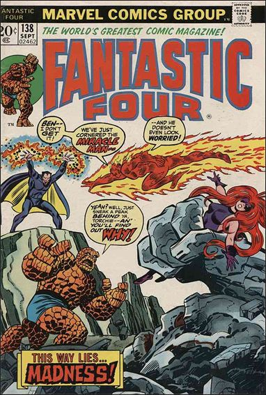 Fantastic Four (1961) 138-A by Marvel