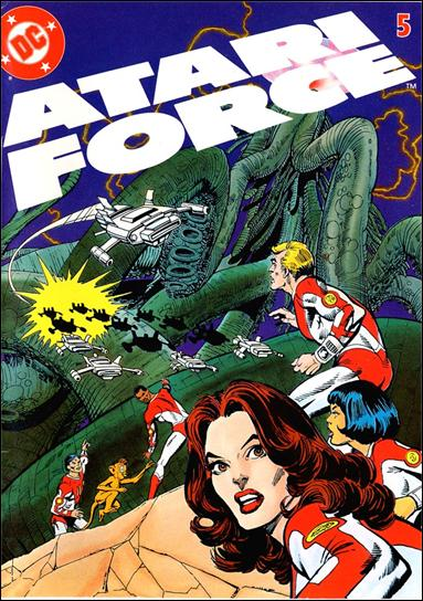 Atari Force (1982) 5-A by DC