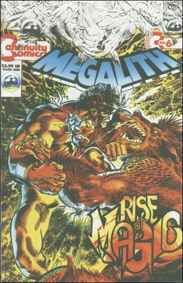 Megalith (1993) 6-A by Continuity Comics