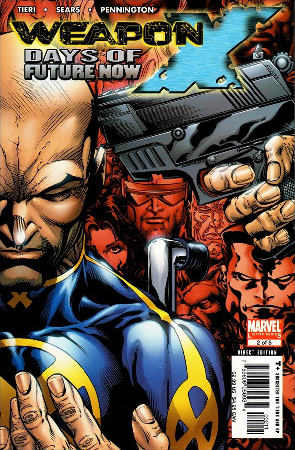 Weapon X: Days of Future Now 2-A by Marvel