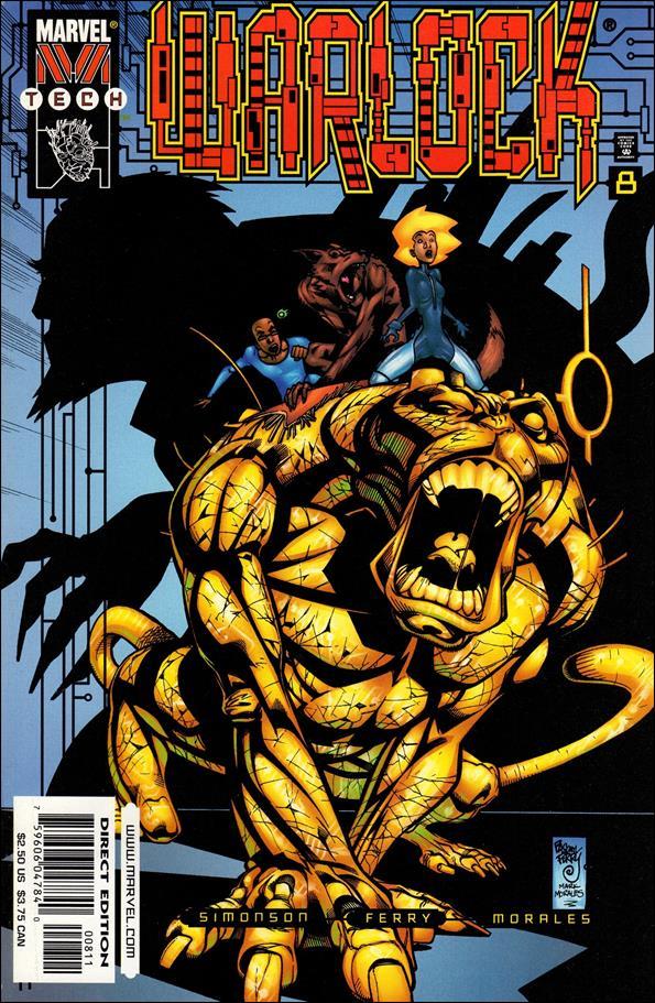 Warlock (1999) 8-A by Marvel
