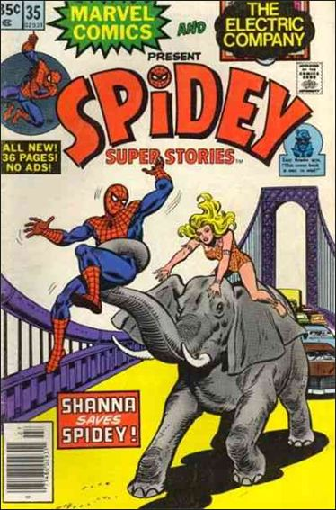 Spidey Super Stories 35-A by Marvel