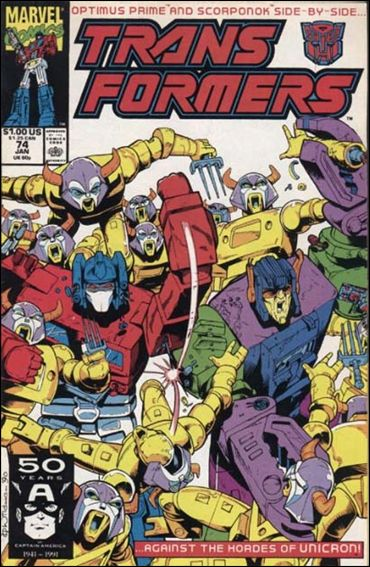 Transformers (1984) 74-A by Marvel
