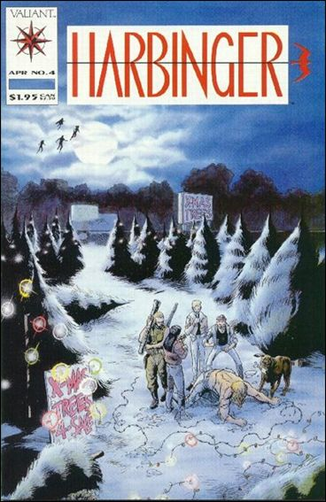 Harbinger (1992) 4-A by Valiant