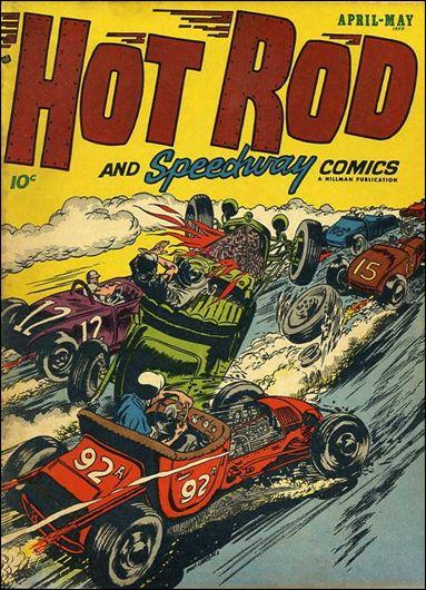 Hot Rod and Speedway Comics 5-A by Hillman