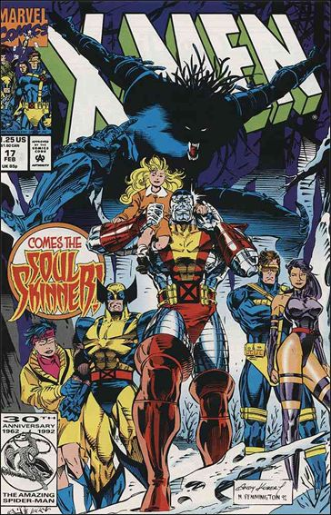 X-Men (1991) 17-A by Marvel