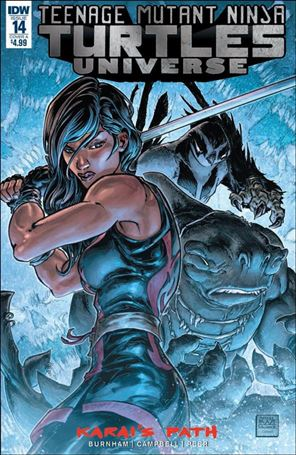 Teenage Mutant Ninja Turtles Universe 14-A