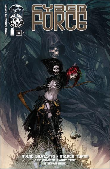 Cyberforce (2012) 6-A by Top Cow
