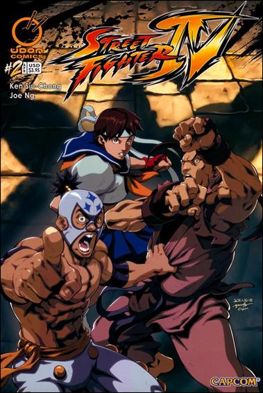 Street Fighter IV 2-B by Udon