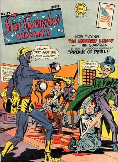 Star Spangled Comics (1941) 12-A by DC