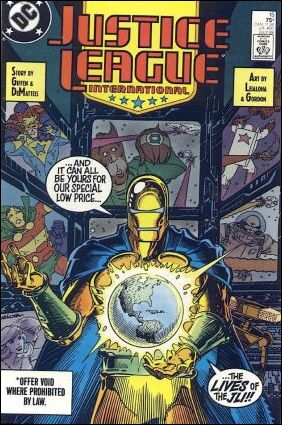 Justice League International (1987) 15-A by DC