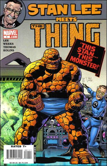 Stan Lee Meets The Thing 1-A by Marvel