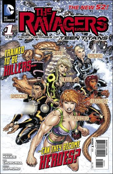 Ravagers 1-A by DC